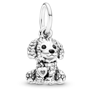 Poodle Puppy Dog Dangle