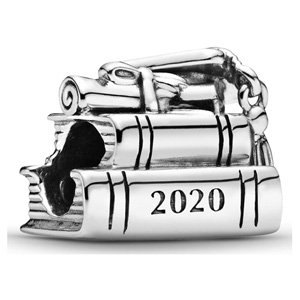 2020 Graduation Books Charm