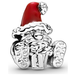 Seated Santa Claus Charm