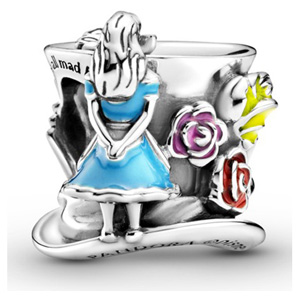 Disney Alice in Wonderland Mad Hatter Tea Party Charm
