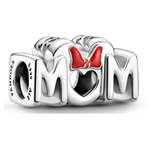 Disney Mom with Minnie Mouse Bow Charm
