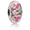 Flower Garden Murano Glass Charm