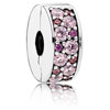 Shining Elegance Clip with Pink Mosaic